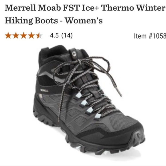 merrell moab fst ice thermo walking boots